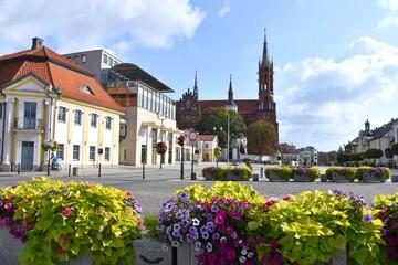 Fototapeta Białystok, Rynek, stare miasto, Podlaskie,  obraz