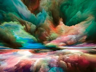 Obraz Spirit of Land and Sky - fototapety do salonu