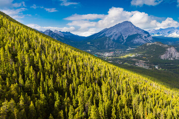 Bow Valley in Banff national park