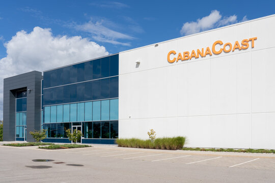 Mississauga, ON, Canada - September 26, 2021: CabanaCoast headquarters in Mississauga, ON, Canada. CabanaCoast  is a line of modern and fashion-forward outdoor furniture.