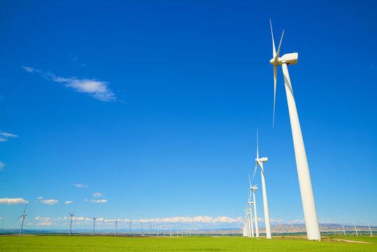 Renewable energy concept view