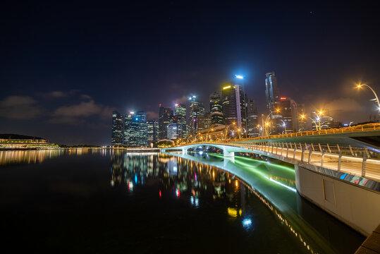 Singapore by Night, Location Marina Bay