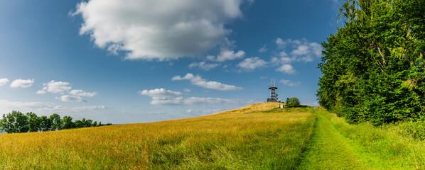 Fototapeta Landschaft beim Ellenbogen in der Rhön obraz