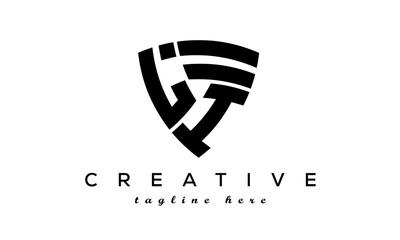 Obraz Shield letters LI creative logo - fototapety do salonu