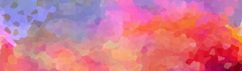 Fototapeta Multi-colored mosaic. Rainbow background. Vector illustration obraz