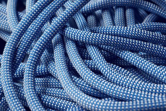Climbing rope view