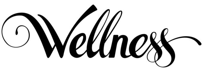 Obraz Wellness - custom calligraphy text - fototapety do salonu
