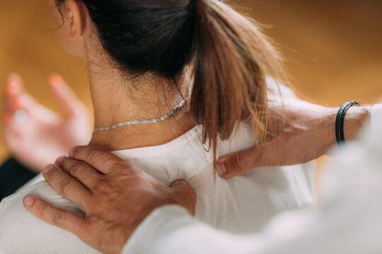 Shiatsu Massage.