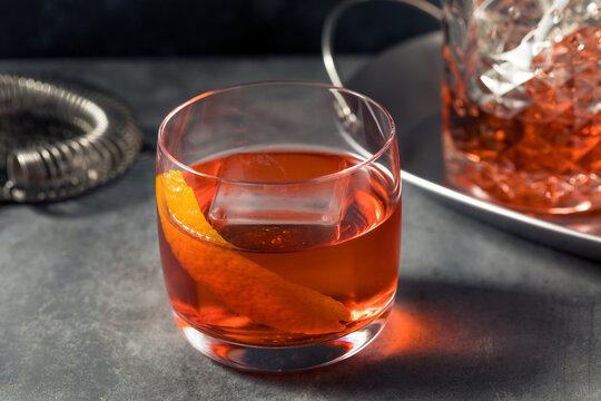 Boozy Refreshing Gin Negroni