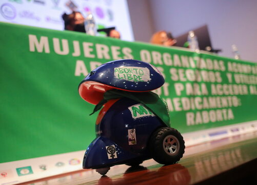 Network of robots deployed to help women in Mexican states where access to abortion is still illegal
