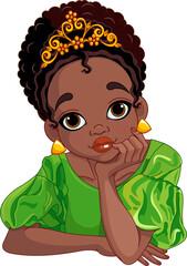Illustration of beautiful princess