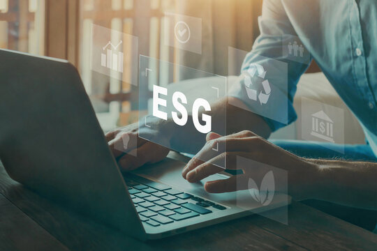 ESG environment social governance investment business concept