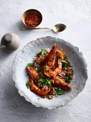 Obraz Pla Goong shrimp meal - fototapety do salonu
