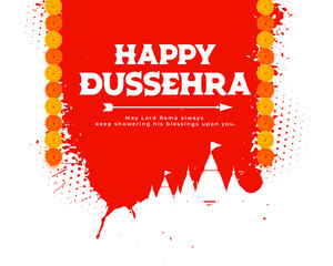 Fototapeta happy dussehra traditional card background obraz