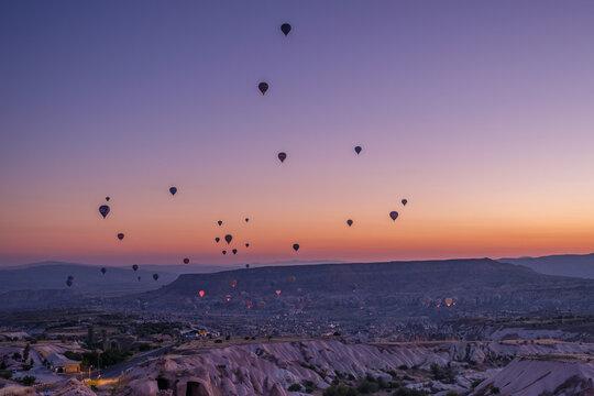 Cappadocia balloon tour , fairy chimneys and caves