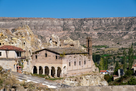 a church belonging to the first christians in cappadocia