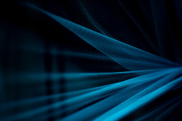 Dark blue sheer abstract background