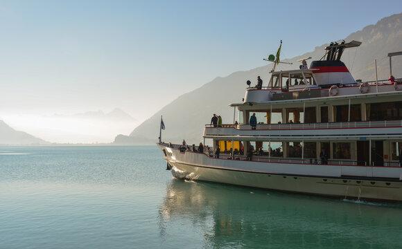 Boat trips on Lake Brienz, Switzerland