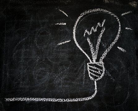 Smart bulb of best idea solution on board