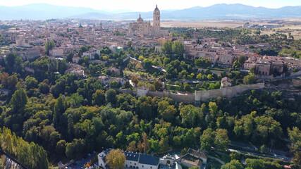 Fototapeta Segovia budynek architektura zabytek miasto obraz