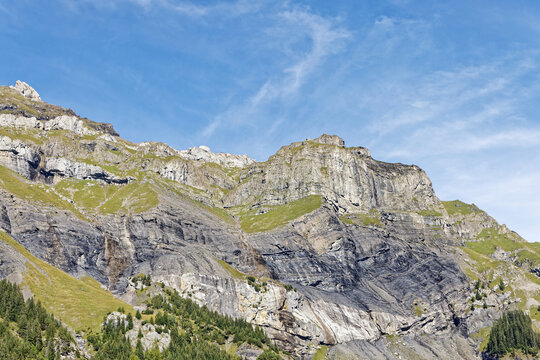 Sommets des alpes Suisses