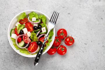 Fototapeta Classic greek salad obraz