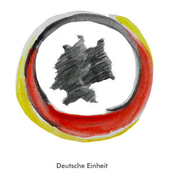 Tag der Deutschen Einheit - Wiedervereinigung von Ost- und Westdeutschland