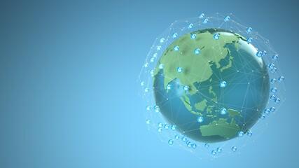 Fototapeta Global Connection Concept obraz