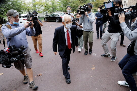Professor Syukuro Manabe's press conference at Princeton University