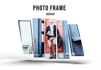 Obraz Photo Frame Mockup - fototapety do salonu