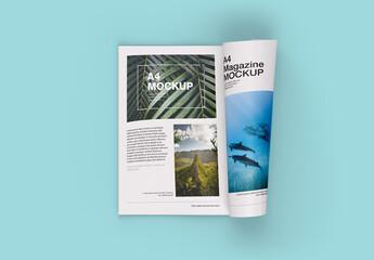 Fototapeta Matte Magazine Mockup obraz