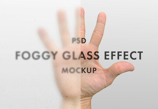 Foggy Glass Effect