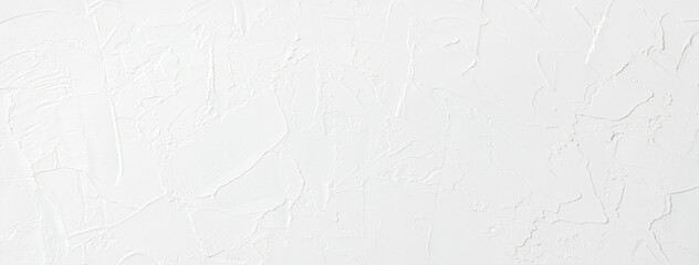 Fototapeta 表面に凹凸の質感のある、漆喰の白い壁の背景テクスチャー obraz
