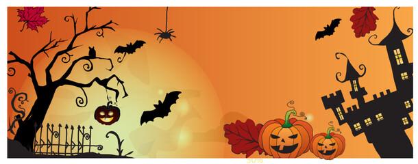Fototapeta Happy Halloween sale  obraz