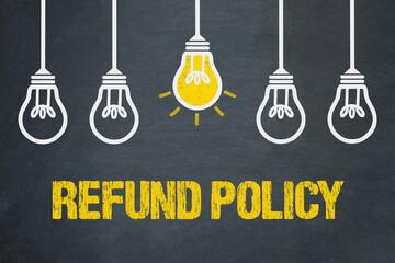 Fototapeta Refund Policy  obraz