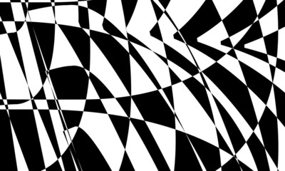 Obraz mystical and enchanting wallpaper in the style of op art - fototapety do salonu