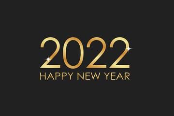 Obraz nowy rok 2022 - fototapety do salonu