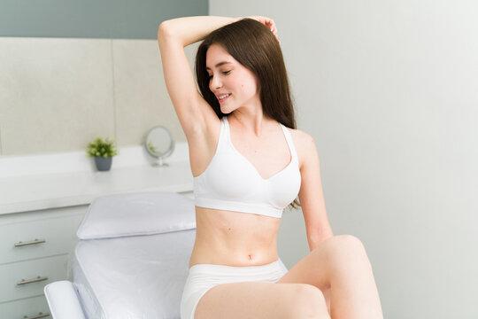 Good epilation treatment results