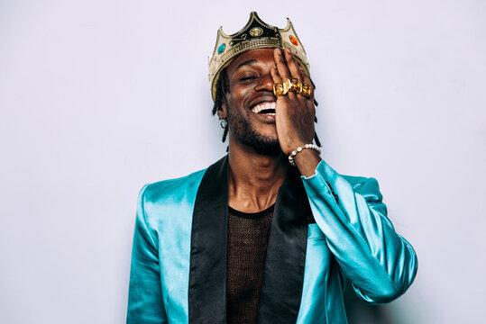 portrait of an hip hop music performer