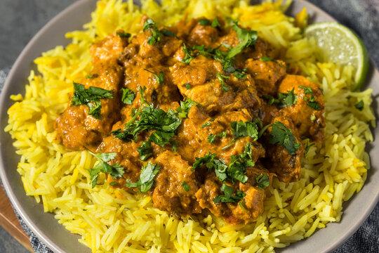 Homemade Indian Chicken Biryani