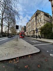 Red bus, London, UK