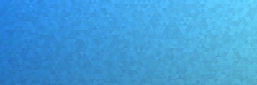Abstrakter Low Poly Hintergrund in blau