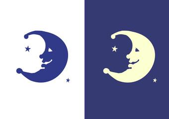 Fototapeta księżyc, noc sen obraz