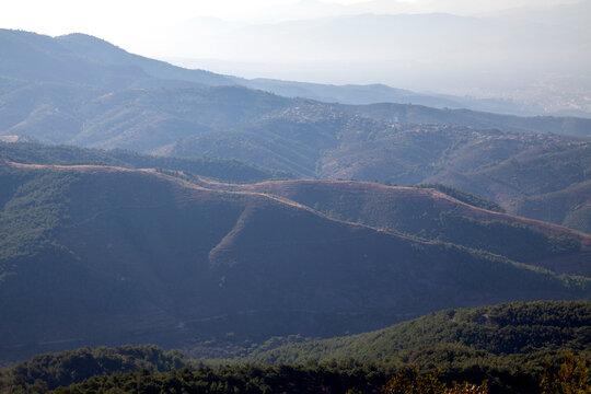 Heaven in the Mount Ida in autumn, Turkey