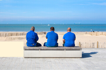 Obraz Calais la plage, Côte d'Opale / France - fototapety do salonu