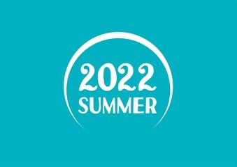 Obraz SUMMER 2022 - fototapety do salonu