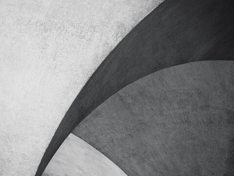 Cement wall textured background Shade shadow lighting Architecture details