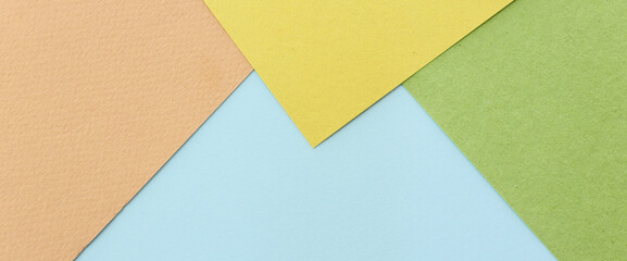 Pastel paper background with geometric stripes