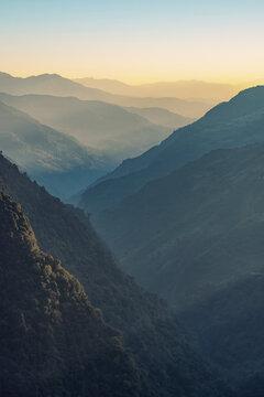 Annapurna Range in the Himalayas, Nepal
