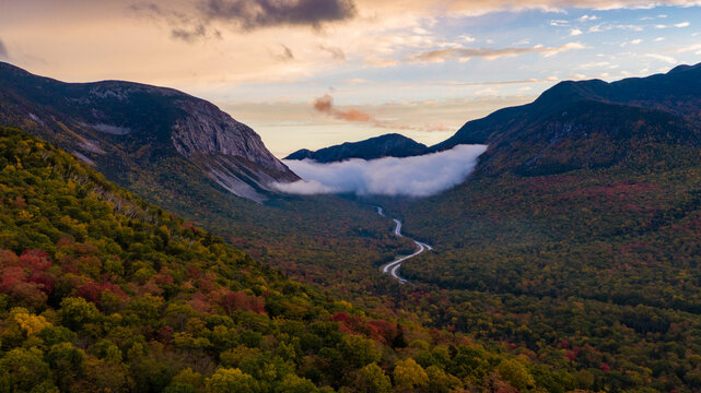 Fall Foliage In The White Mountains of New Hampshire